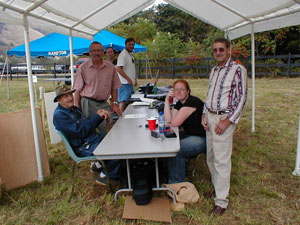 Community members at Headwaters Community Day
