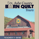 Ashe County Barn Quilt Tour Guide cover image.